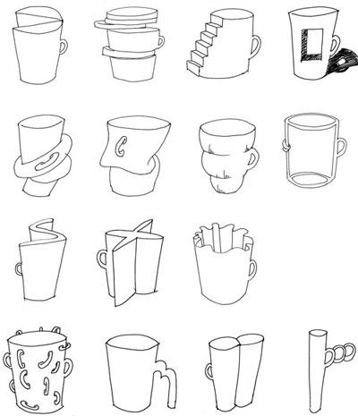 图形创意与联想图片