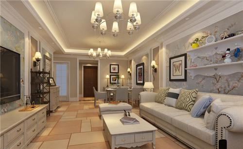 20万装修200平方别墅效果图 如诗如画般的美式装修案例