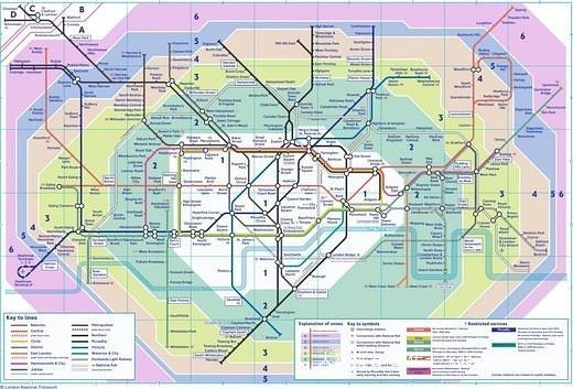 世界各城市强大的地铁线路图图片