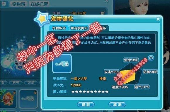 炫舞冰龙30满星战力