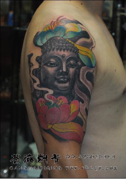 美发师手部纹身图案分享展示图片
