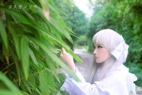 穹妹兔女郎cosplay