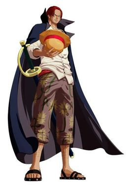 红发香克斯(《海贼王》)  香克斯,是日本人气漫画作品《海贼王》里的