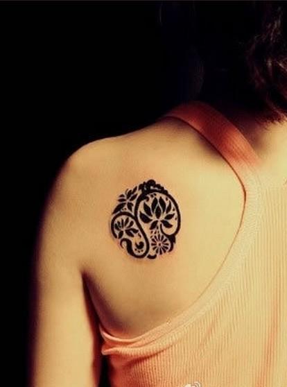 当女生爱上纹身_处女座吧图片图片