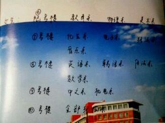 新学期聊城大学东昌学院宿舍楼调整最后确认(高清版)【顶】图片