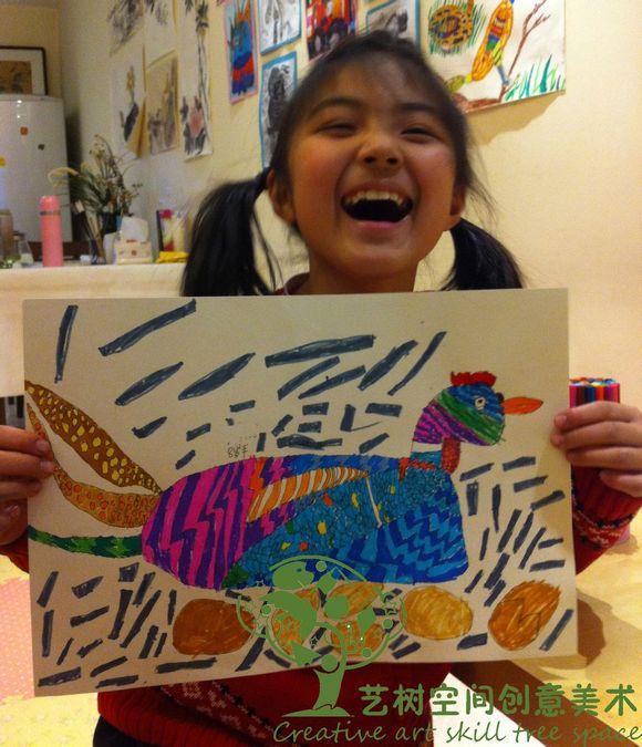 儿童美术作品展示!图片