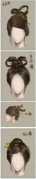 【求问】流云鬓是什么样子的?【古代发型吧】_百度贴吧图片
