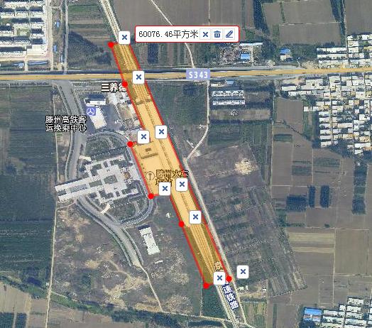 莘县站规划占地约90亩
