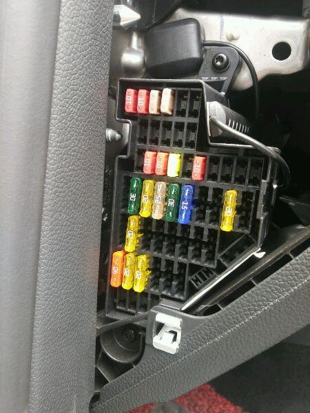 保险盒中哪些保险只有钥匙在ON位置才有电在ACC位置... 太平洋汽车网