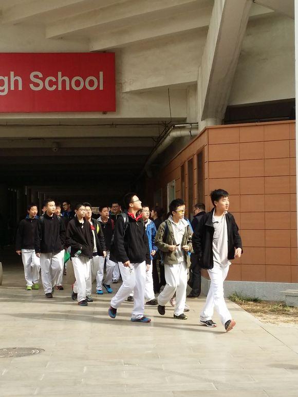 3月29日八中高中部体育考场学习高中测试难什么照片最图片