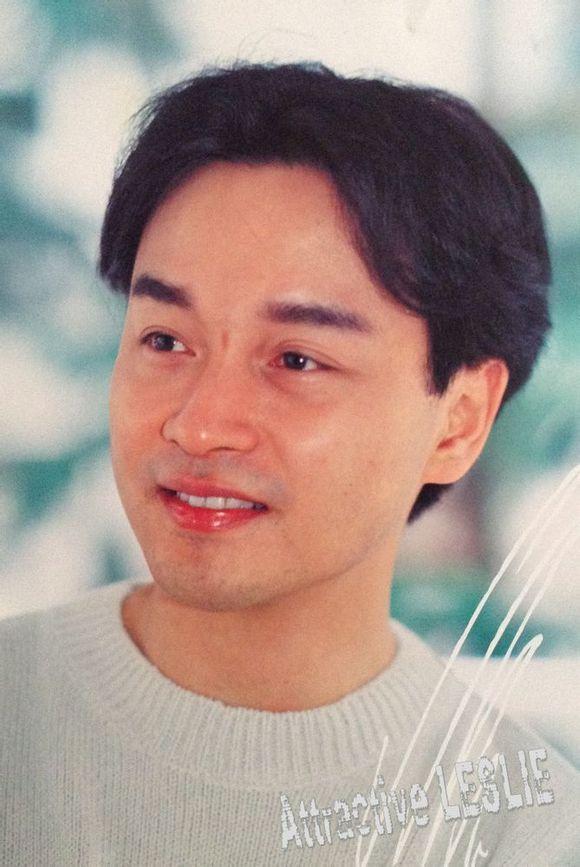 张国荣三七分发型图片展示图片