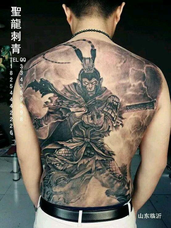 标签:个性纹身孙悟空纹身斗战胜图片