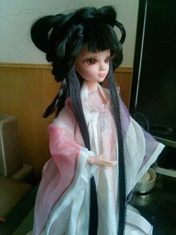 芭比娃娃古代发型编制图片