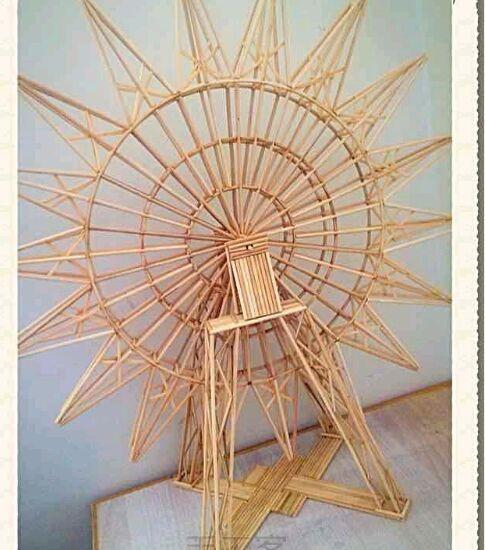 筷子制作摩天轮