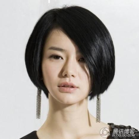 短发发型图片