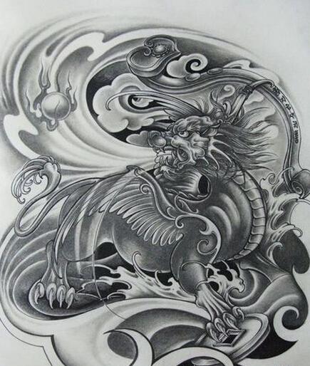 貔貅是我国神话传说中的一种神兽,和龙,凤,麒麟等一样是虚构的吉祥图片