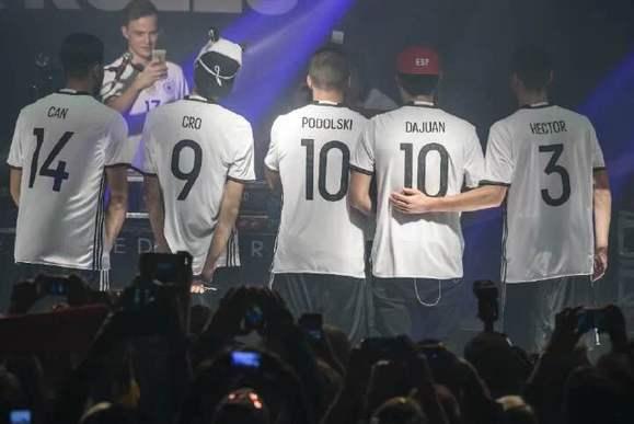 德国队2016欧洲杯球衣图片
