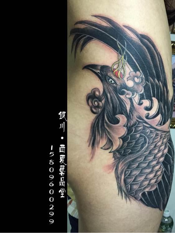 传统凤凰纹身图片
