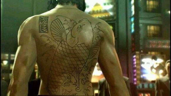 如龙中那么多大佬的纹身,你最中意哪个.图片