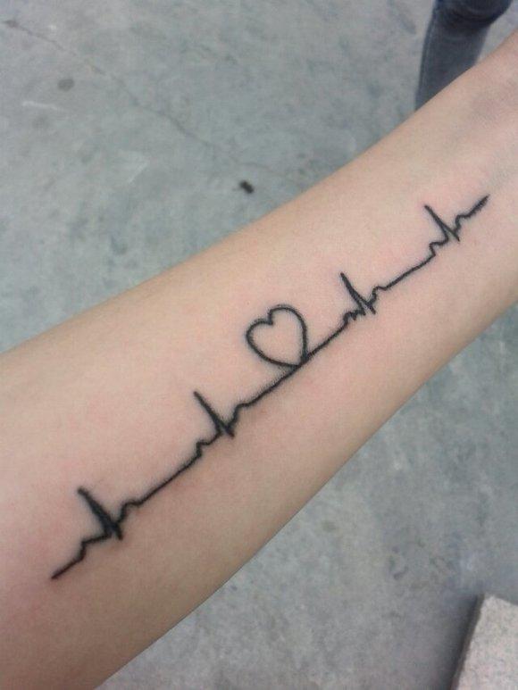 简单的心电图纹身_第3张图片