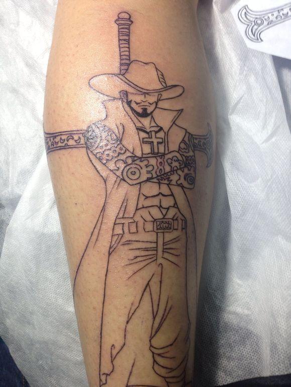 的《海贼王》罗_纹身图案图片
