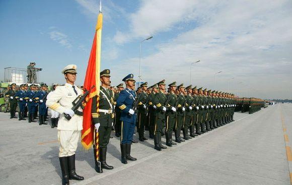 阅兵仪式_9月3日,我们将用庄严的阅兵仪式