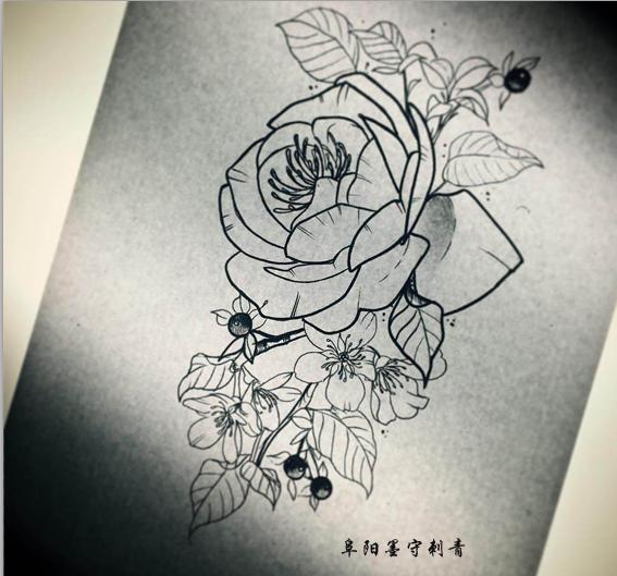 2018小清新纹身图案分享展示图片