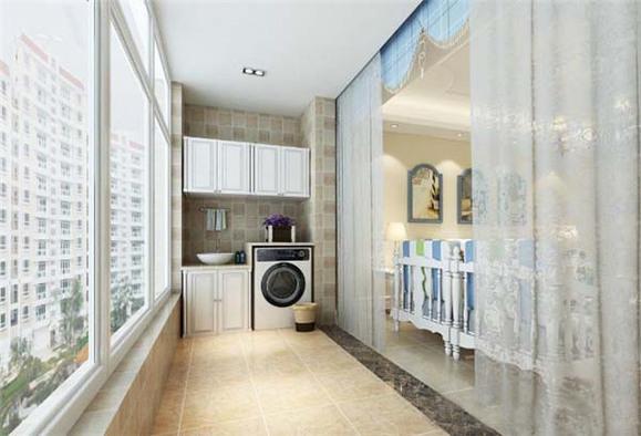 家庭小阳台装修效果图,阳台不只是晾衣服那么简单!