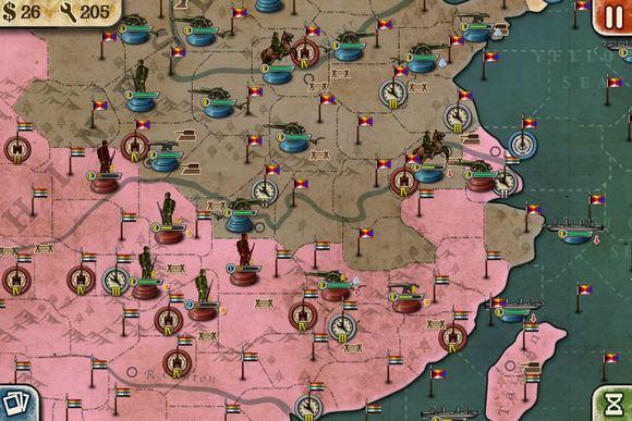 北伐战争_北伐战争地图