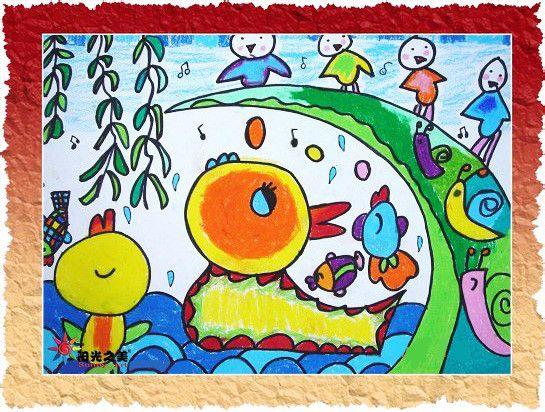 秋梦童画-孩子们喜欢的科幻画图片