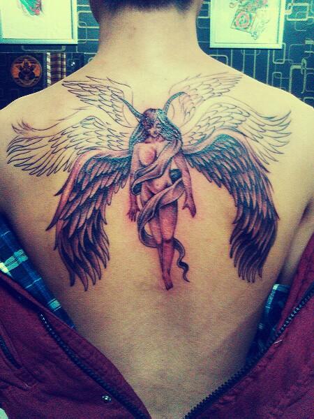六翼天使_纹身图案图片