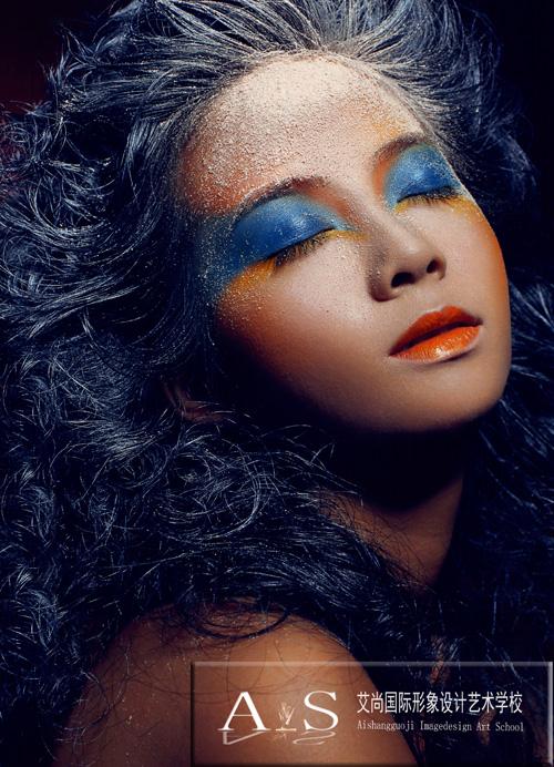 创意彩妆造型图片
