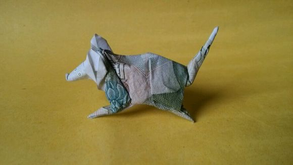 【﹉折纸展示﹉】纸币十二生肖图片