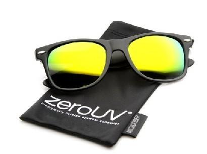 reflective wayfarer sunglasses  reflective