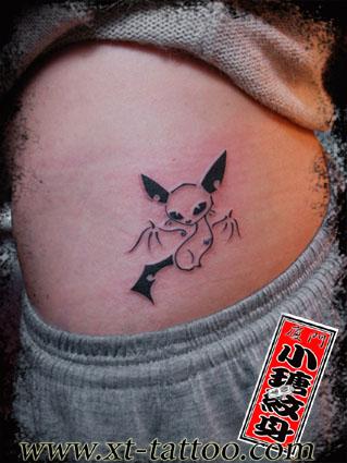猫控纹身-可爱图片-q友乐园图片