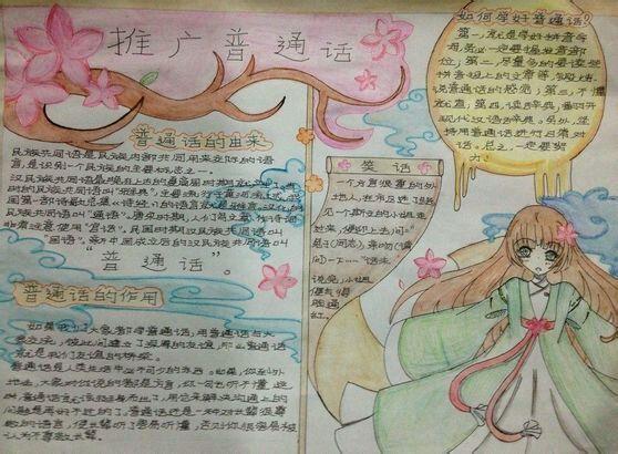 主题:【推广普通话】2014.2.28日完成【手抄报吧】
