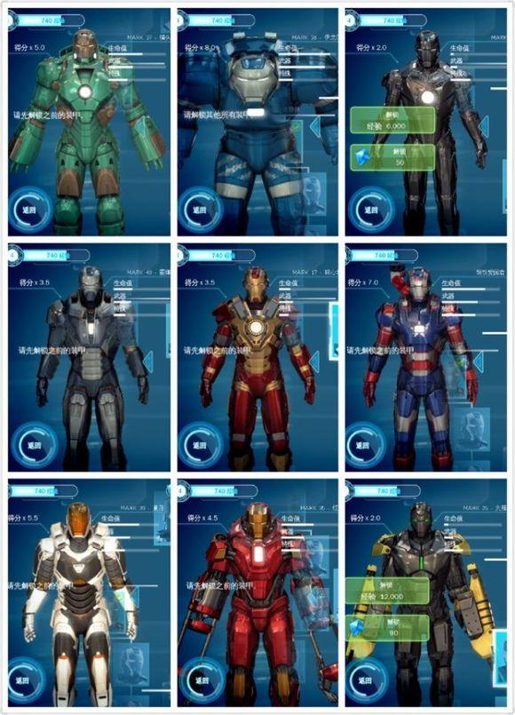 回复:钢铁侠全套盔甲解析大全 附图附讲解 百年一见哦图片
