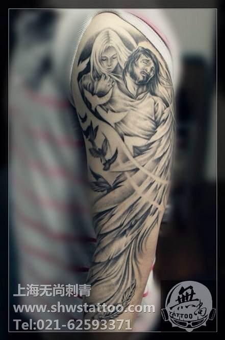 纹身变形!图片