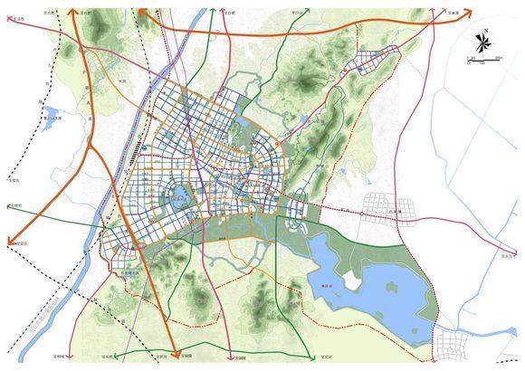 庐江县域综合交通----最新系统规划图_庐江吧_百度贴吧