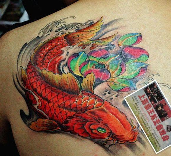霸王项羽纹身背分享展示图片