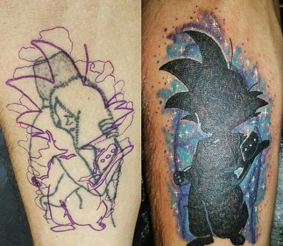 回复:献给想要【修改,遮盖】纹身和伤疤的宝宝们~关于改图盖图的图片