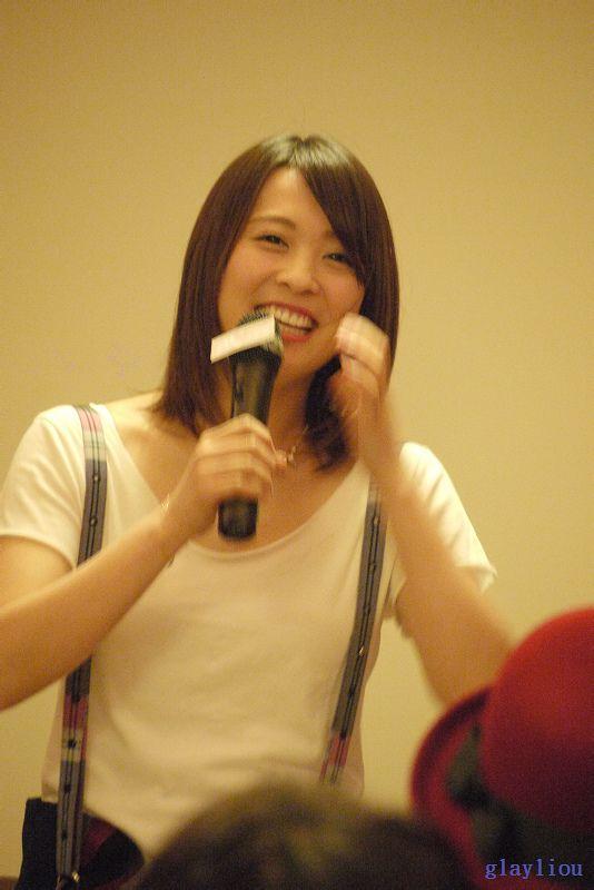 【140215】北乃きい 台湾 粉丝见面会