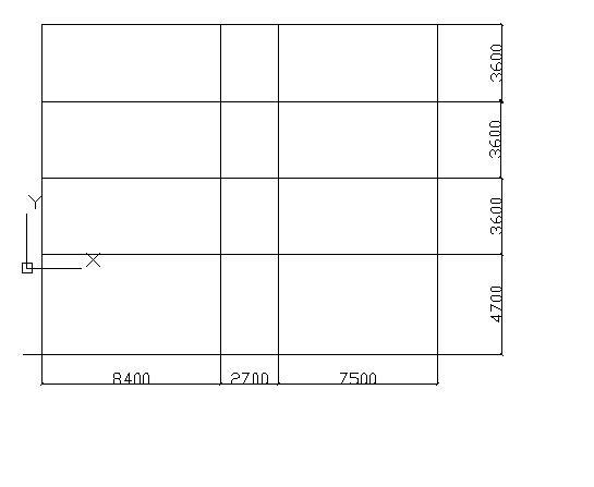 【求助】内廊式的框架结构,走道两边跨不相等怎么办图片