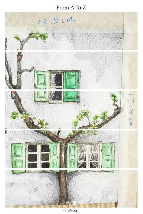 【az创意工坊】长期土楼·原创/同人插画·水彩·板绘·马克等等啦图片