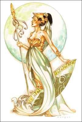 天秤座—智慧女神雅典娜