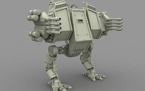 maya 科幻 机器人 制作 入门级高清图片