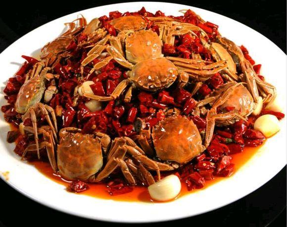 香辣做法的步骤河蟹图,香辣河蟹做好吃咳嗽吃了榨菜会怎样图片