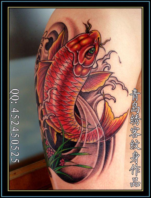 ◤◢◤◢ 青岛纹身★★★★★2012 绣客作品 ◤◢◤◢图片