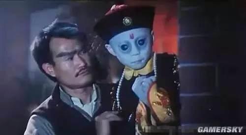 天师毛小方(林正英)为捕日本僵尸王图片