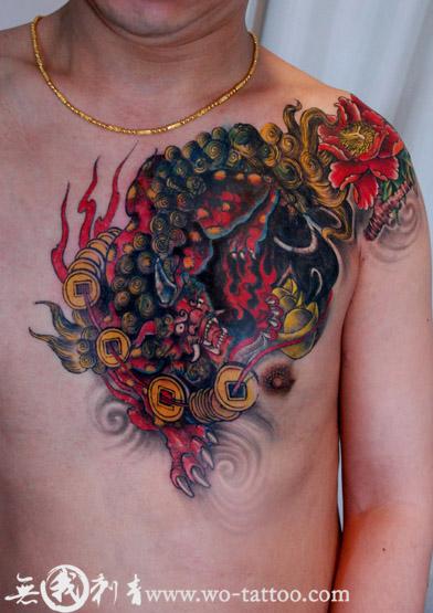 广州纹身店【无我刺青】tattoo作品-2014 (392x555)图片